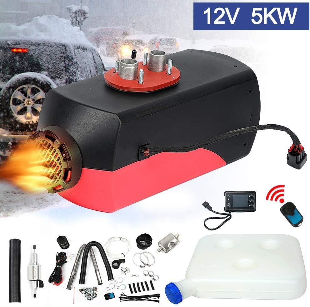 5KW 12V Air Diesel Heizung Standheizung Integration Luftheizung Knob Schalter