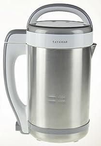Tayama DJ-15SS Soymilk Maker 1.3L, 1.3 liter, Stainless steel