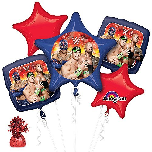 Costume Supercenter BB101433 Wwe Party Balloon Kit]()