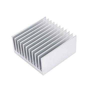 Radiador de Aluminio Disipador de Calor Transistor Amplificador de Alta Potencia para un Dispositivo Semiconductor con