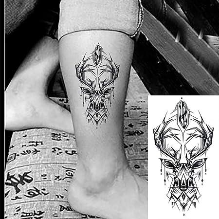 tzxdbh 5 Unids Impermeable Pegatina Tatuaje Temporal Serpiente ...