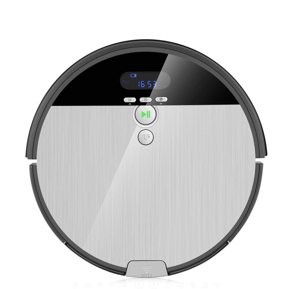 iLife Robot aspirador V8S, limpieza planifié, techonogie avanzada de limpieza del pelo de los animales de compañía, sin Caléndula de Enchevêtrement: ...