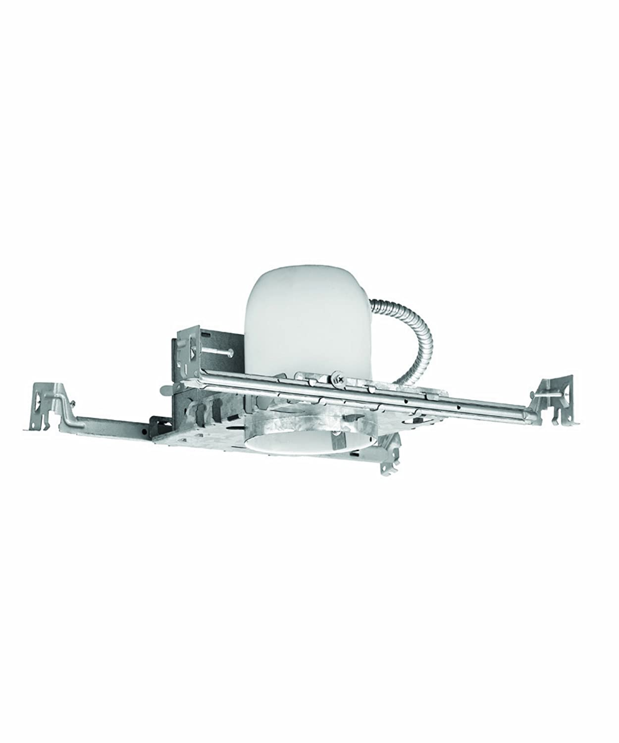 WAC Lighting R400SNA 4-Inch New Construction Housing Non Ic-Air Tight Recessed Lighting R-400S-N-A