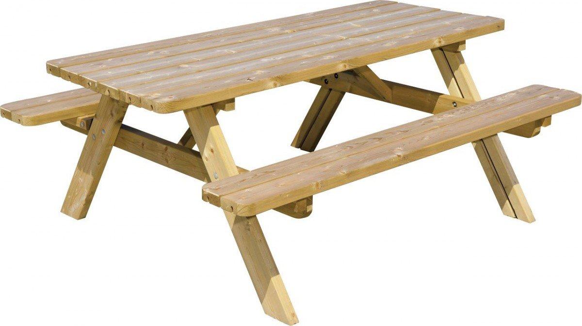 Dreams4Home Picknickbank \'Bierra\' - Sitzbänke, Tisch, hochklappbar ...