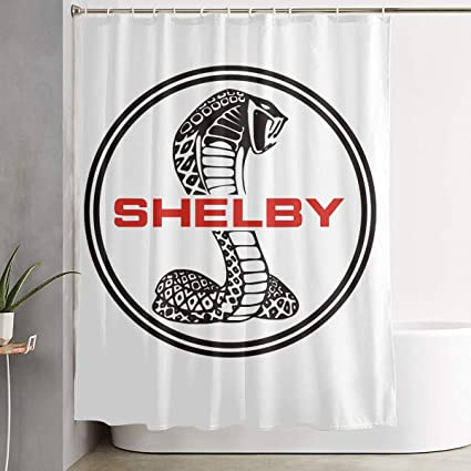 Amazon NEST Homer Ford Mustang SVT Cobra Shelby Bath Curtain