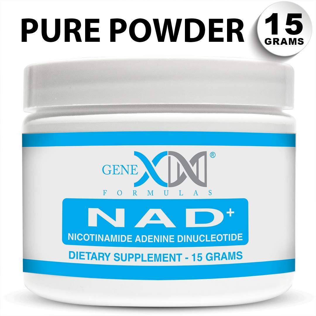 Genex Pure NAD+ Powder (15 Grams) - Certified 99% Pure Nicotinamide Adenine Dinucleotide Powder