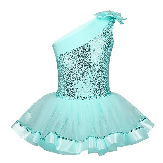 Alvivi Vestido Tutú Niña para Danza Ballet Lentejuelas ...