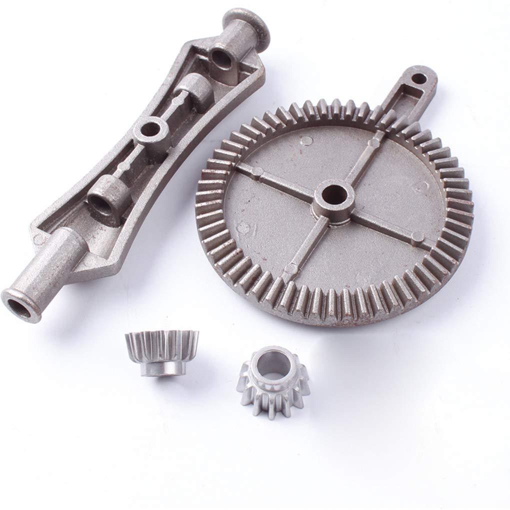 Bomcomi Doble Manual Taladro Pi/ñ/ón de la Mano de Bricolaje Craftsman Rotary Arranque Mango de Madera de pl/ástico Blando Metal Taladro de Mano
