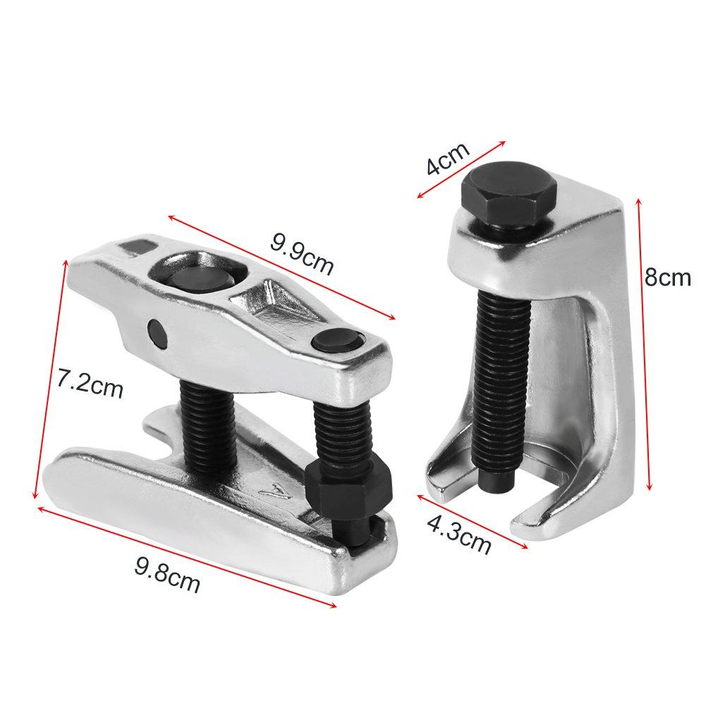 Extracteur de Rotule 2pcs 1pcs // 2pcs Arrache Rotule et Extracteur de Rotule de Direction Universels Taille douverture 20mm // 22mm