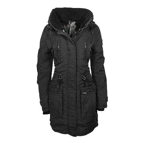 Khujo Claire chaqueta negra