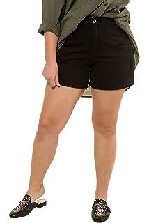 Studio Untold Damen große Größen Bis 54, Shorts, Jeans Destroyed, 5-Pocket c5588d4453