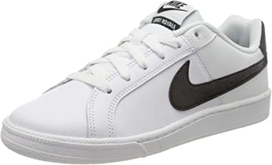 Zapatillas De Mujer Nike Court Royale Blanco Negro Shoes