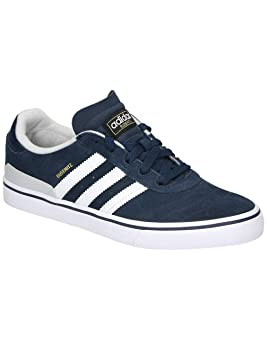 new styles 21926 65de2 Adidas Busenitz Vulc Adv Collegiate Navy Light Heather Solid Grey Running  White 9.5uk  Amazon.es  Deportes y aire libre