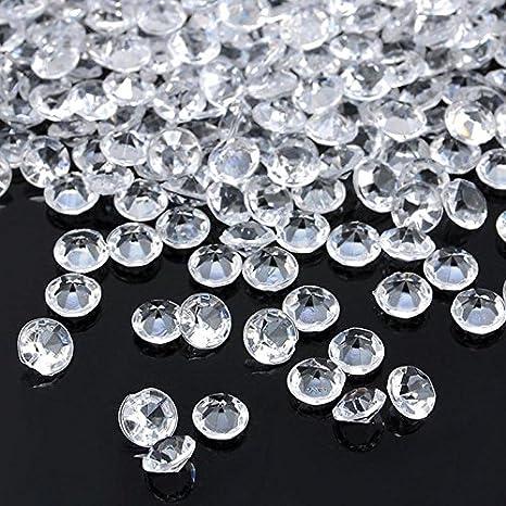 4.5mm Wedding Party Decoration Diamond Confetti Table Scatters Decor Acrylic