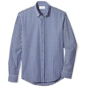 Buttoned Down Men's Slim Fit Button-Collar Sport Shirt
