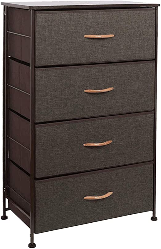Amazon Com Waytrim Fabric 4 Drawers Storage Organizer Unit Easy