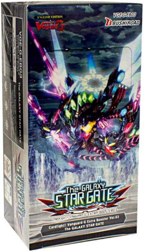 Cardfight Vanguard G The Galaxy Star Gate EB03 English Extra Booster 3 Box - 12 packs / 7 cards