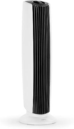 Oneconcept St. Oberholz XL Purificador ionizador Ventilador de Aire (ultracompacto, Poco Ruido, bajo Consumo, Elimina hasta 97,6% de gérmenes y bacterias) - Negro ...
