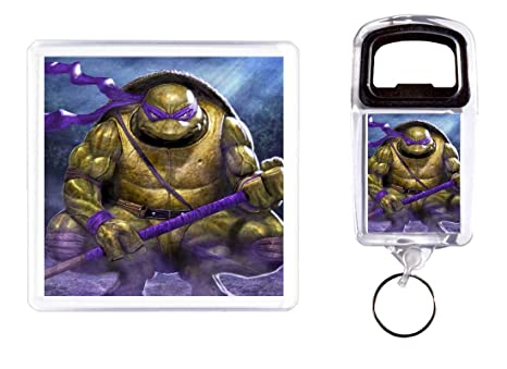 Abridor de botella y posavasos Tortugas Ninja: Amazon.es: Hogar