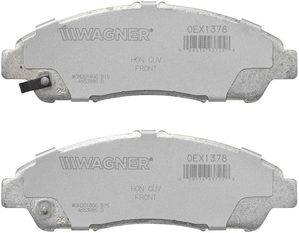 Disc Brake Pad Set-OEX Disc Brake Pad Front WAGNER OEX1815