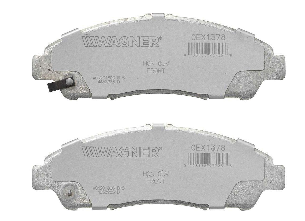 Amazon com: Wagner Brake OEX1378 OEX DISC PAD Set: Automotive