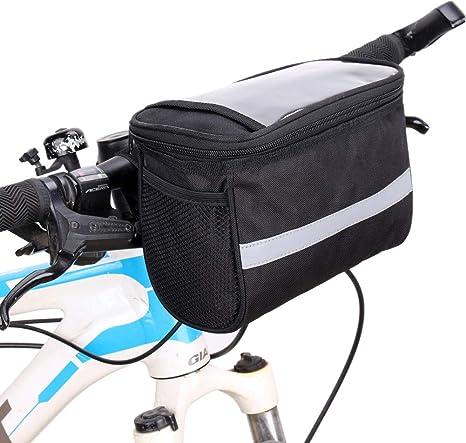 Bolsas para Bicicletas Bolsa Sillin Bici Soporte de teléfono de ...