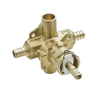 moen positemp pressure balancing shower valve 12inch pex