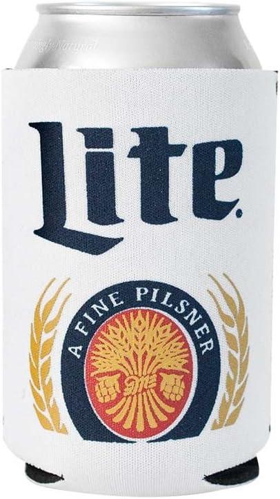 Officially Licensed Miller Lite Drink Can Holder Neoprene Beer Huggie Cooler Sleeve (1)