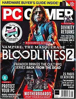 PC GAMER Magazine June 2019 Issue 318 VAMPIRE: THE