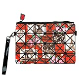 Women's Travel Cosmetic Bags Small Makeup Clutch Pouch Cosmetic and Toiletries Organizer Bag