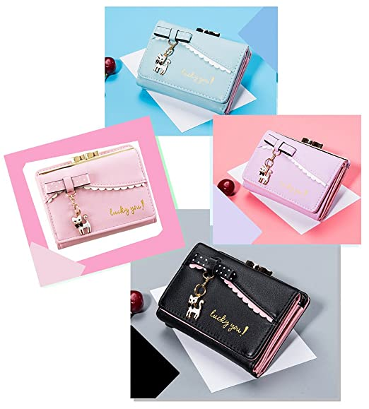 Wallets for Women Cute Wallet Purse Lovely Card Holder for Teen Girls at Amazon Womens Clothing store:
