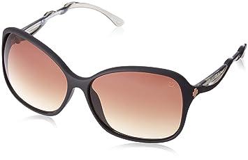 24b1265d7f Spy Fiona Sunglasses Black Femme Fatale- Bronze Fade Size One Size ...