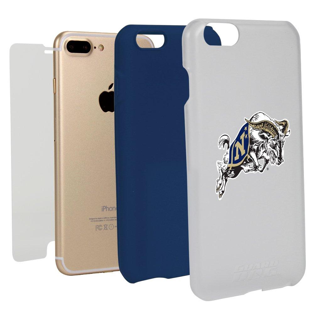 NCAA iPhone Case for iPhone 7 Plus/8 Plus White (Navy Midshipmen)