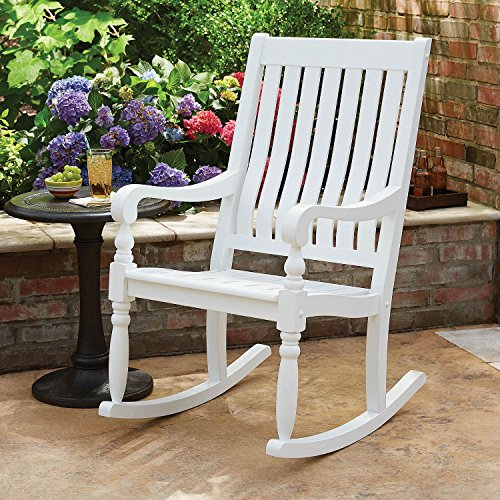 Member's Mark Painted Wood Porch Rocker (White) Review