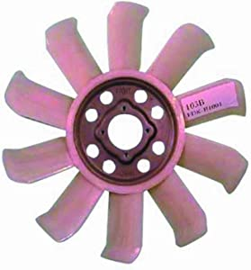 DEPO 330-55034-400 Replacement Engine Cooling Fan Blade (This product is an aftermarket product. It is not created or sold by the OE car company)