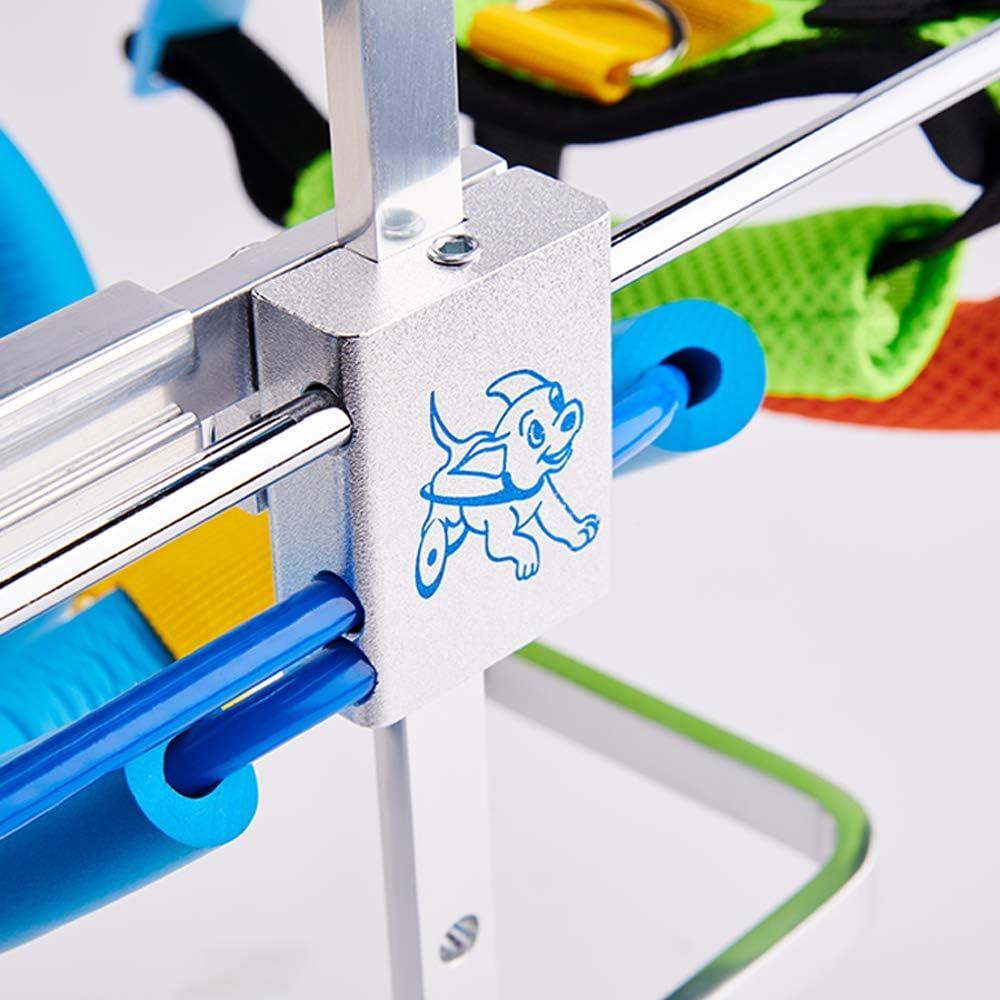 Front//Hind Legs Rehabilitation Tongping Adjustable Dog Pet Wheelchair 4 Wheels Dog Cart Wheels