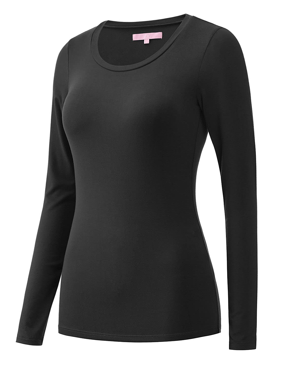 Regna X Bother Women's Long Sleeve Performance Athletic Shirts (Round or V Neck) 8ATBA17705_P