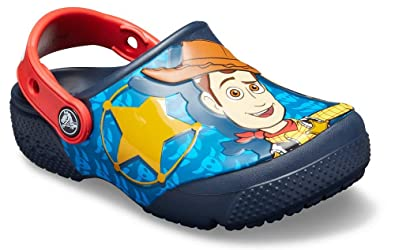 53b852ef7e1 Crocs Kids' Boys and Girls Toy Story Buzz and Woody Clog