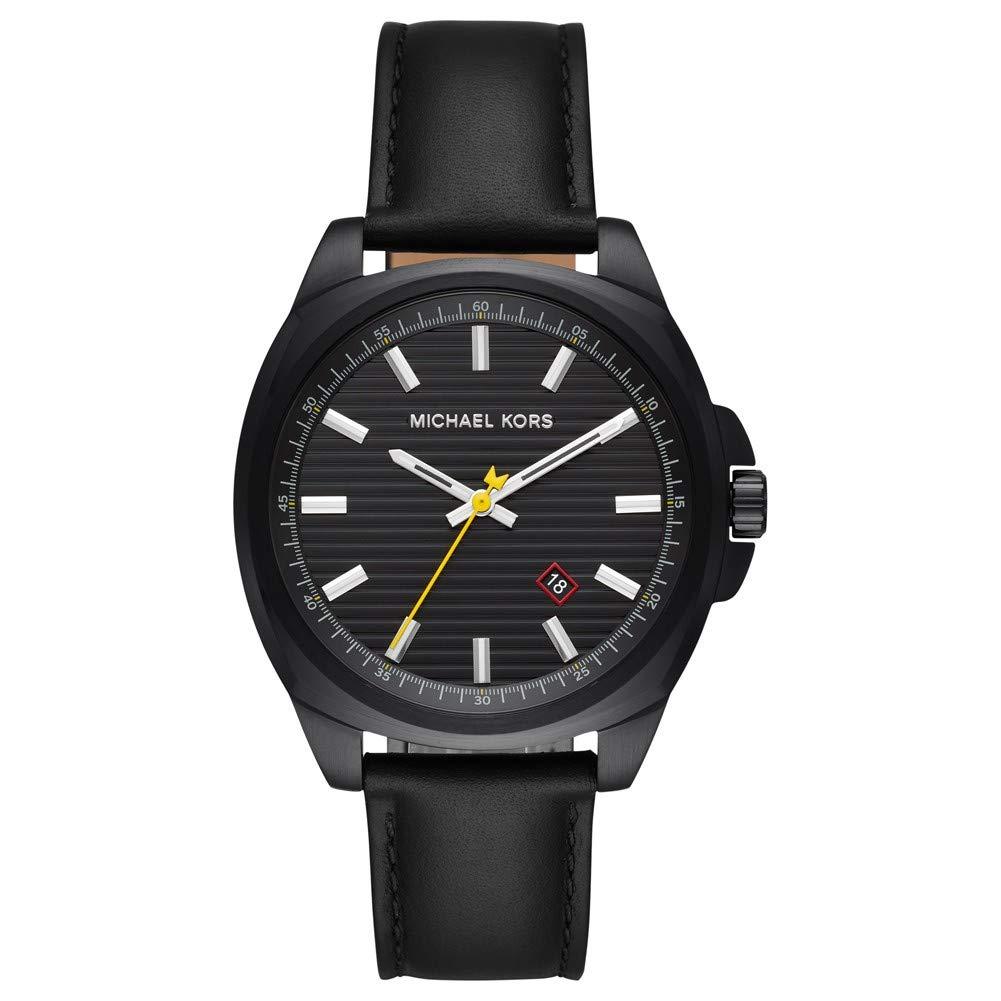 Michael Kors Reloj Analógico para Hombre de Cuarzo con Correa en Cuero MK8632: Amazon.es: Relojes