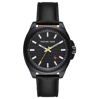 c4c3296b4c73 Michael Kors Mens Analogue Quartz Watch with Leather Strap MK8632   Amazon.co.uk  Watches