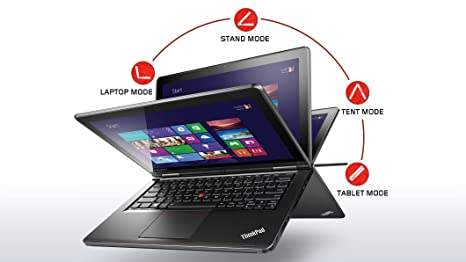 2c7b6acd707f60 Lenovo ThinkPad Yoga 12.5-Inch Convertible 2 in 1 Touchscreen Ultrabook  (20CD0032US)