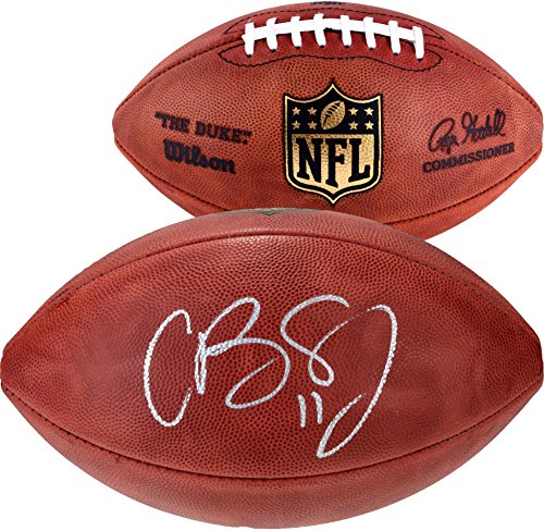 Cole Beasley Dallas Cowboys Autographed Duke Pro Football - Fanatics Authentic Certified - Autographed (Dallas Cowboys Autographed Pro Football)