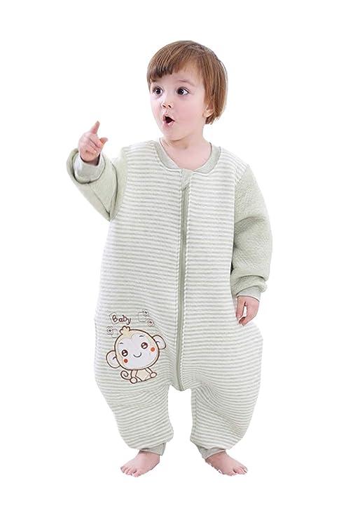 afa91e9a12 BabyFat Sacos de Dormir Pijama para Bebé Niño Unisex Otoño Invierno 2.5 Tog  -