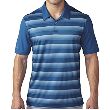 adidas Golf Camisa de Polo de Rayas de Bloque para Hombre: Amazon ...