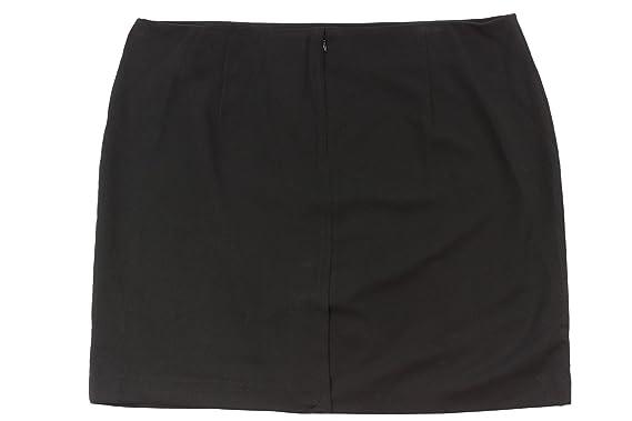 Amanda Chelsea Women S Black Mini Pencil Skirt 20w At Amazon