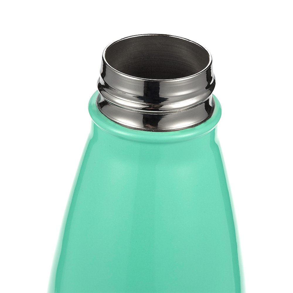 Stainless Steel Vacuum Insulated Double Wall Sports Bottle Teal Water Bottle Keeps Drinks Hot /& Cold 25oz Juvale Outdoor Sports Work Hiking Leak Proof Portable Travel Beverage Container for Home