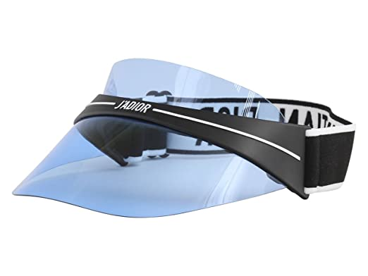 fed894254b Amazon.com  Dior DIORCLUB1 Visor Black White Blue one Size fits All ...