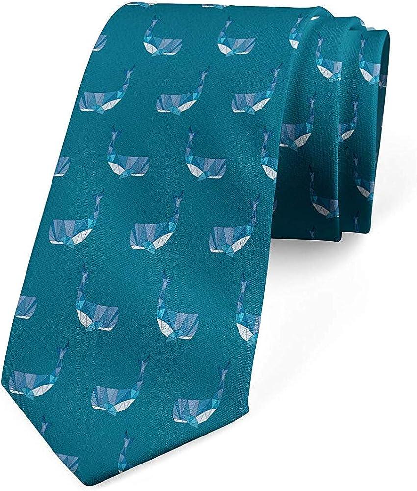 Mathillda Corbata para hombre, natación poligonal para grandes ...