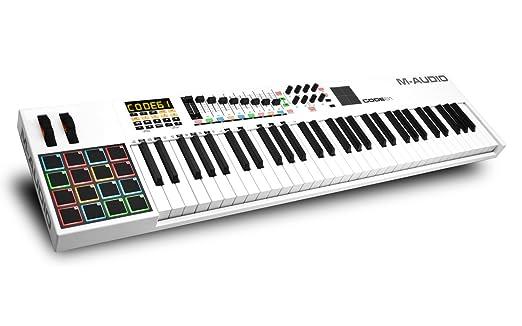 6 opinioni per M-Audio Code 61 Tastiera Controller MIDI USB Avanzata, con Touch Pad X/Y e Più