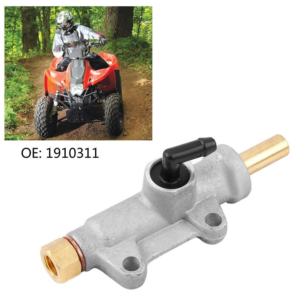 Qiilu Rear Brake Master Cylinder for Polaris ATV Trail Boss 330 325 2000-2009 1910311